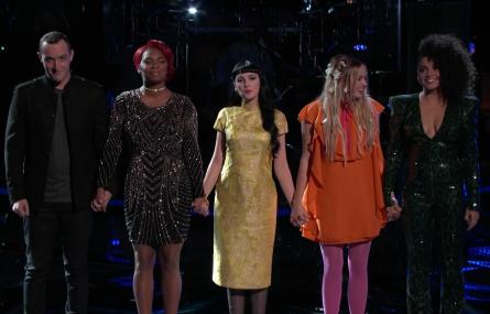 The Voice season 11 Live Playoffs Team Miley