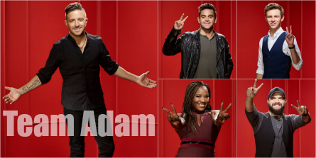 The Voice 11 Team Adam