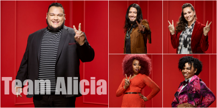 The Voice 11 Team Alicia