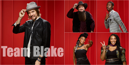 The Voice 11 Team Blake