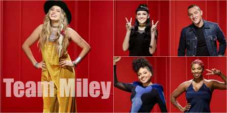 The Voice 11 Team Miley