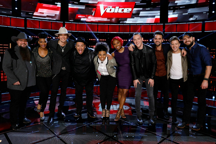 The Voice 11, Top 10 contestants