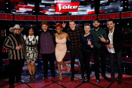The Voice 11 Top 10 Results, Top 8