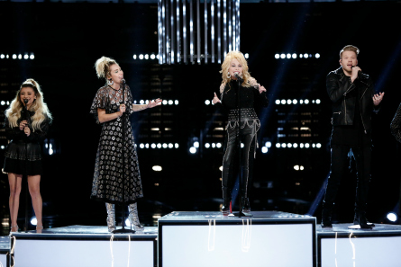 The Voice 11, Top 10 Results, Pentatonix, Dolly Parton