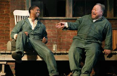 Fences on Broadway, Denzel Washington, Stephen Henderson
