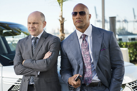 Ballers, Rob Corddry, Dwayne Johnson