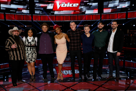 The Voice 11, Top 8 contestants