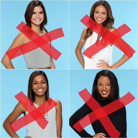 The Bachelor 21 premiere eliminated women 1