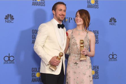 La La Land, Ryan Gosling, Emma Stone, Golden Globes