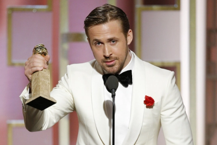 La La Land Ryan Gosling Golden Globe