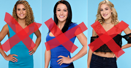 Bachelor 21, week 6 eliminated, Jami, Alexis, Josephine
