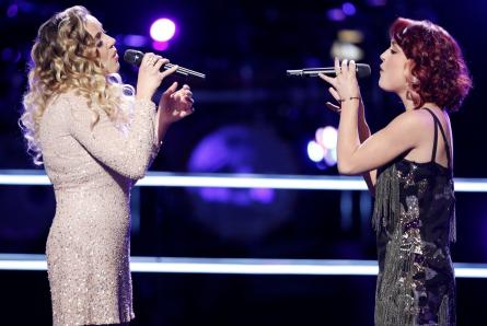 Voice 12 Battles Ashley Levin vs Casi Joy