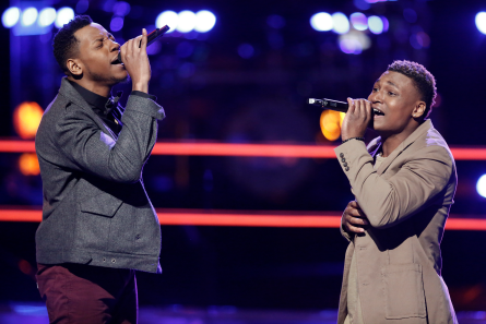 The Voice 12 Battles Chris Blue vs RJ Collins