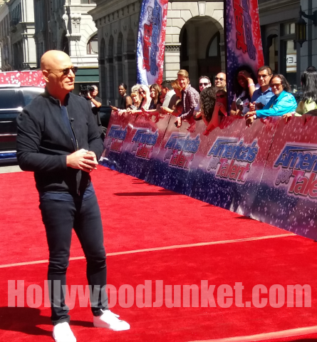 AGT season 12 red carpet, Howie Mandel
