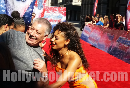 AGT Season 12 red carpet, Mel B.