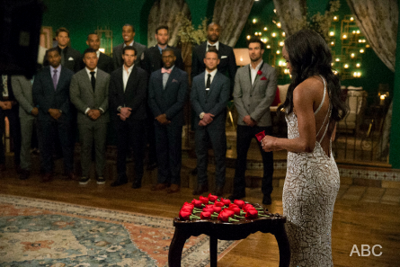 The Bachelorette 13 Rachel Lindsay, Rose Ceremony
