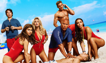 Baywatch 2017 movie cast