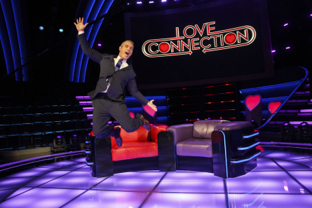 Love Connection set, Andy Cohen