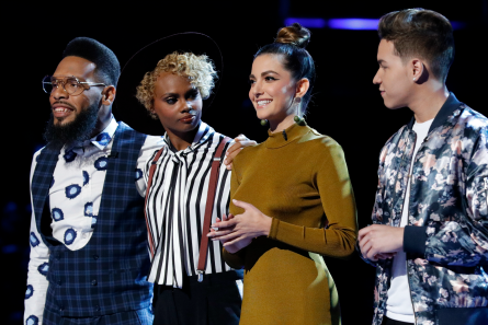 The Voice 12 Top 10 Results, TSoul, Lilli, Vanessa, Mark