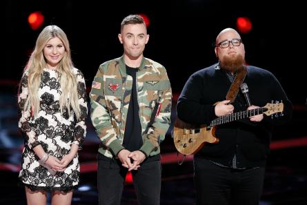 The Voice 12 Top 8 Results, Brennley Brown, Hunter Plake, Jesse Larson