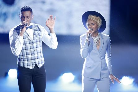 The Voice 12 Top 8, Chris Blue, Vanessa Ferguson