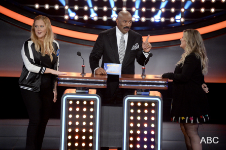 Celebrity Family Feud 3, Amy Schumer, Kelly Clarkson