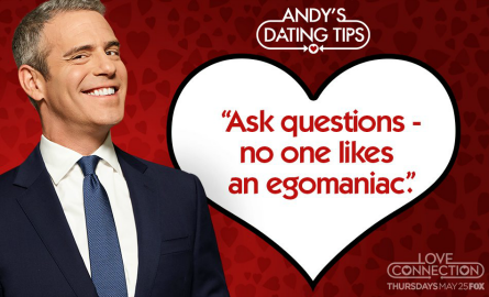 Love Connection promo, Andy Cohen