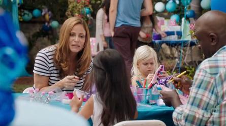 "truTV ""I'm Sorry"" Andrea Savage, birthday party scene"