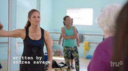 truTV I'm Sorry, Andrea Savage, dance class