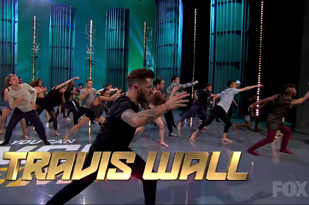 SYTYCD 14 Academy week 2, Travis Wall