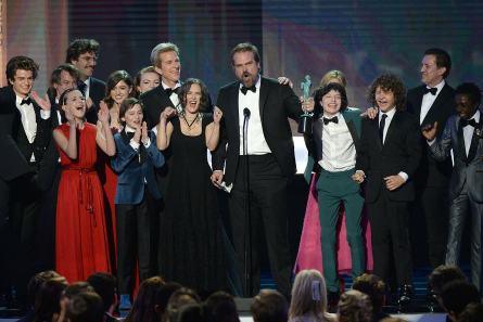 Stranger Things cast at SAG Awards