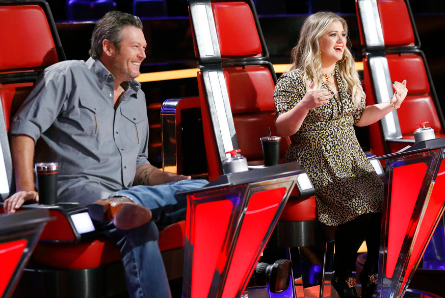 The Voice 13 Knockouts week 1, Blake Shelton, Kelly Clarkson