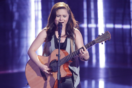The Voice 13 Blind Auditions, Moriah Formica