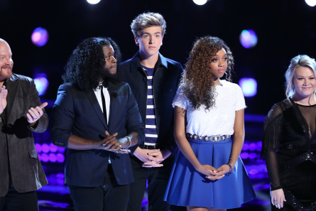 The Voice 13 Live Shows week 1 Results, Team J Hud