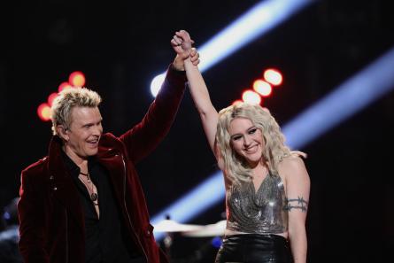 The Voice 13 Finale, Billy Idol, Chloe Kohanski