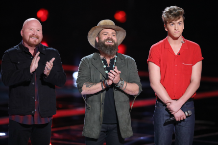 The Voice 13 Semi Final, Red Marlow, Adam Cunningham, Noah Mac