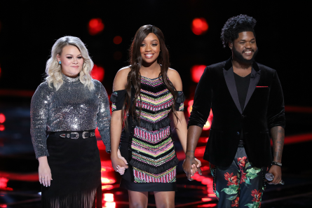 The Voice 13 Live Shows week 3, Bottom 3, Ashland Craft, ShiAnn Jones, Davon Fleming