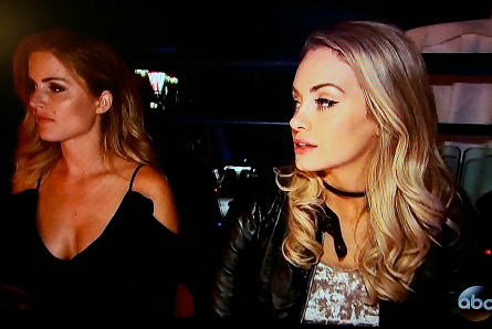 The Bachelor 22 week 6, Chelsea and Jenna at Moulin Rouge