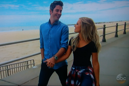 Bachelor 22 week 8 hometowns, Lauren and Arie