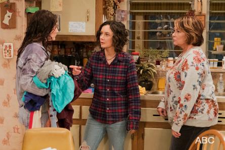Roseanne 2018, Emma Kenney, Sara Gilbert, Roseanne Barr