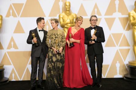 Oscars 90 winners, rockwell, mcdormand, janney, oldman