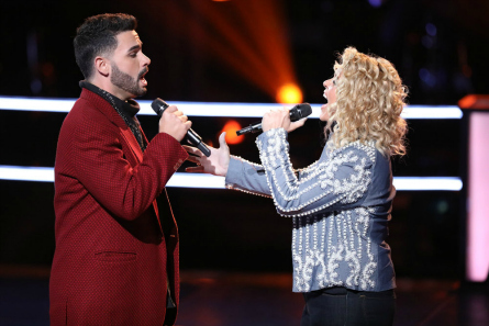 The Voice 14 Battles, Molly vs. Justin