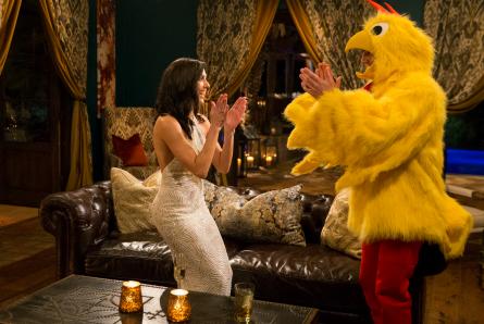 Bachelorette 14, Becca and David, chicken