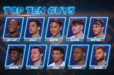 SYTYCD 15 Top 20 Males