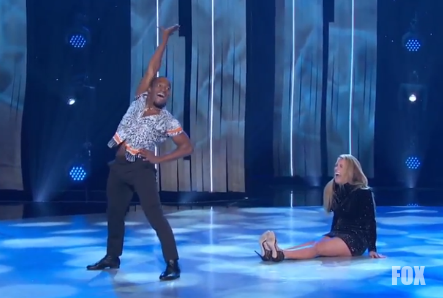 SYTYCD 15 Top 6 live show week 4, Jay Jay and Cat Deeley