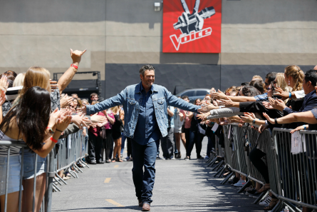 The Voice 15 premiere, Blake Shelton
