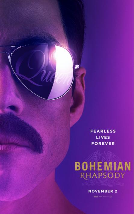 Bohemian Rhapsody movie poster, 20th Century Fox