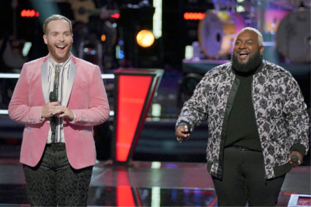 The Voice 15 Battles week 1, Colton vs Patrique