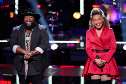 The Voice 15 Knockouts, SandyRedd, Patrique