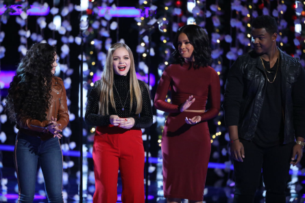 The Voice 15 live show week 3, Results